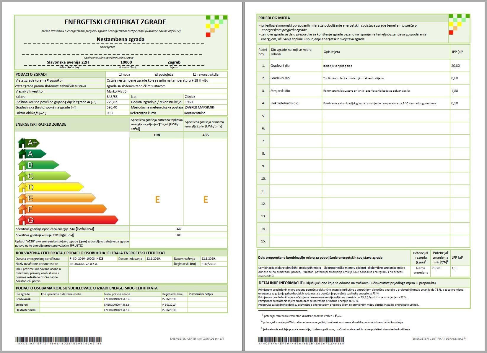 Energetski pregled i certificiranje zgrada