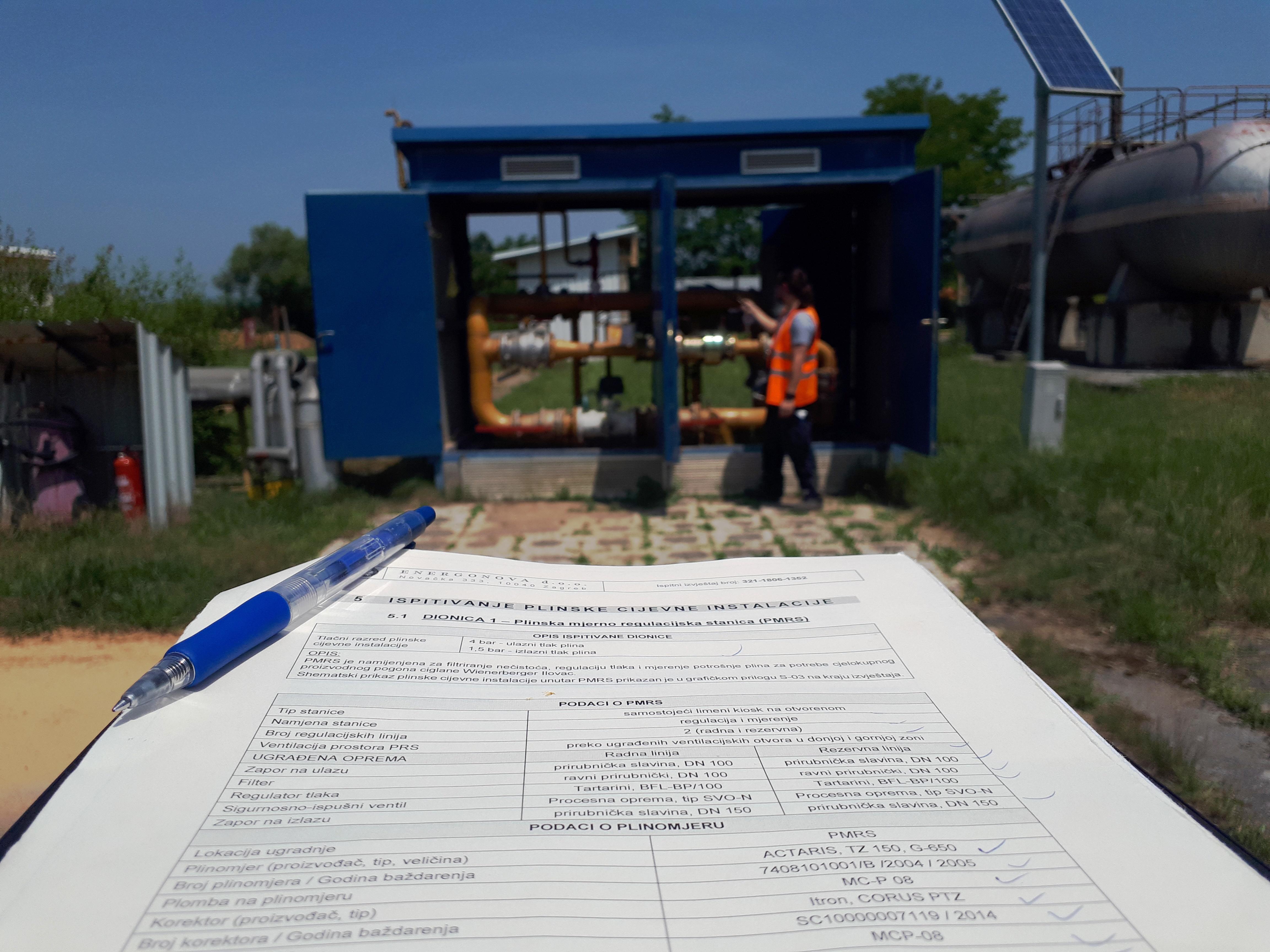 Ispitivanje plinskih instlacija