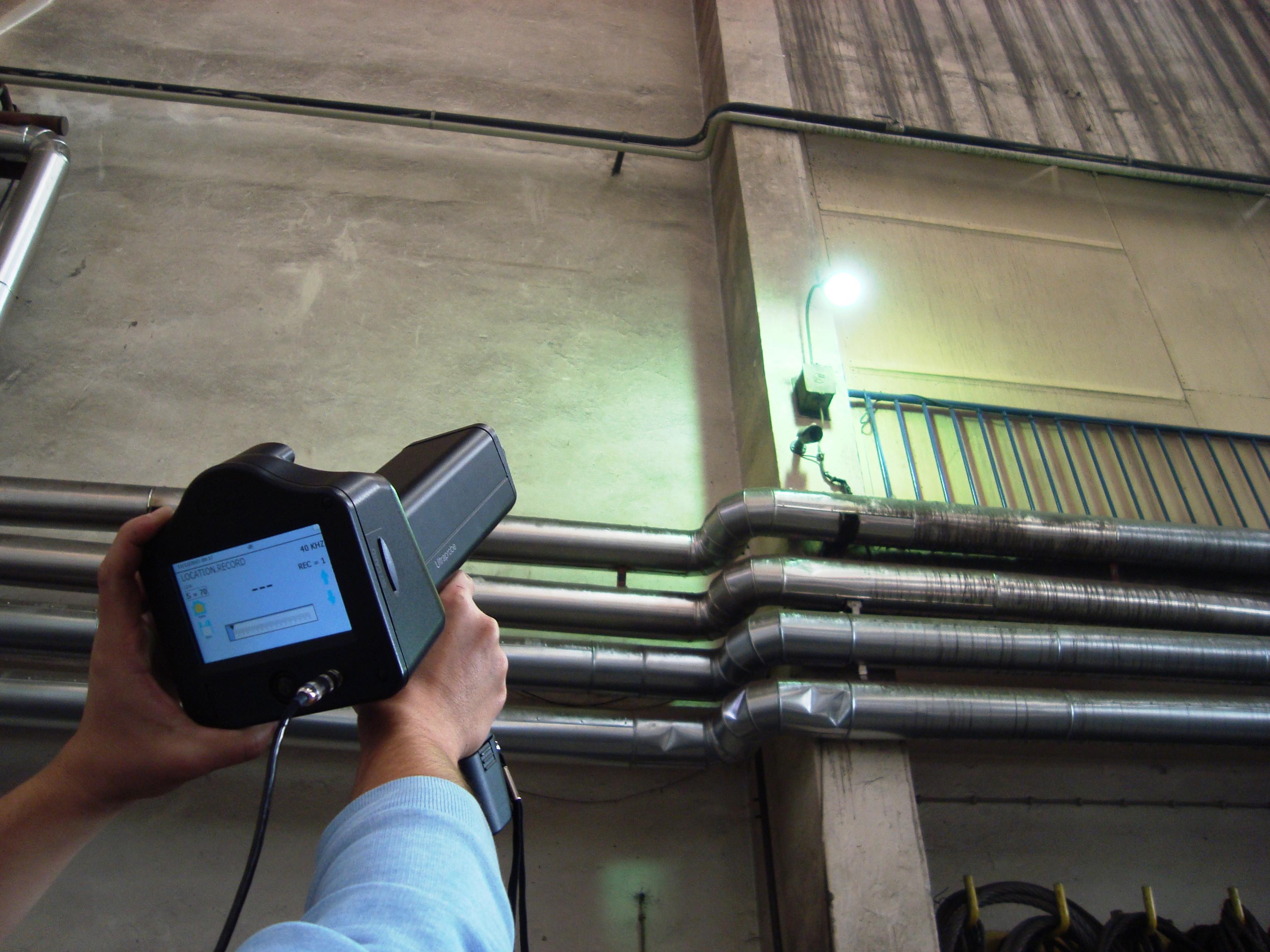 ispitivanje instalacije komprimiranog zraka