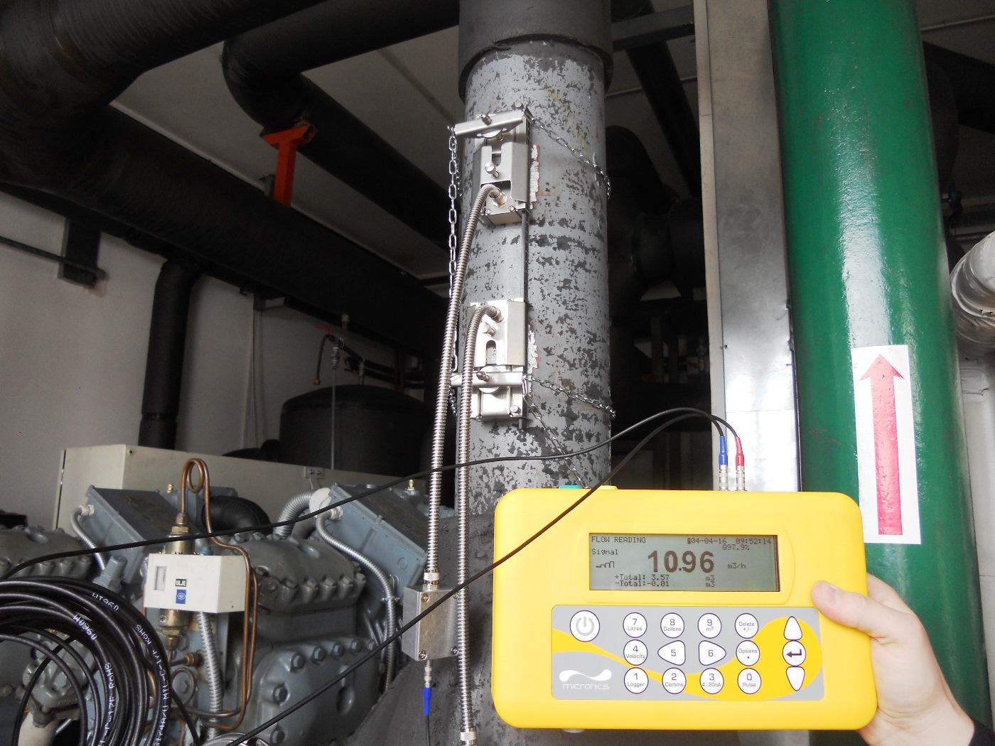Mjerenje protoka tekućina i potrošnje energije